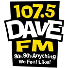 107.5 Dave FM logo