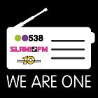 538 Groep, 538 logo, SLAM!FM logo, Radio 10 Gold logo, radio receiver