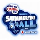 95-106 Capital FM logo, Summertime Ball 2013 logo, Vodafone logo