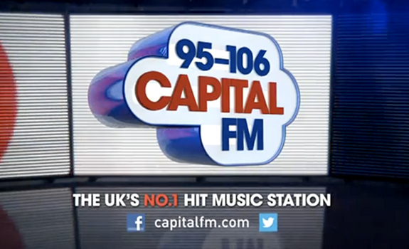 95-106 Capital FM, The UK's No.1 Hit Music Station, TV advert