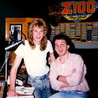 Adam Curry, Z100, Jeroen van Inkel, Radio Veronica, Curry & Van Inkel, Z100 radio studio