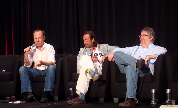 Andrew Jeffries, Markus Kühn, Paige Neinaber, Worldwide Radio Festival 2013