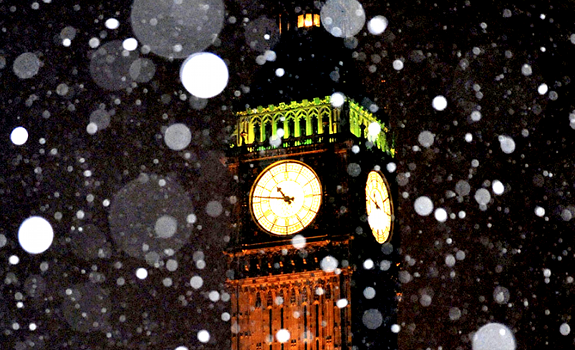 www.radioiloveit.com | The BBC is using audio slideshows to backsell their coverage of important social events, like the huge masses of snow that fell in the UK in January 2011 (photo: BBC News)