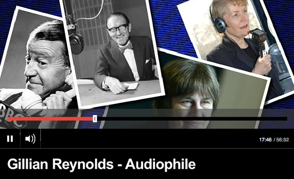 Most visual add-ons can be created or uploaded simultaneously with the audio bit, so you don't have to wait until you can add it downstream in the production flow (image: BBC / Radio 4)
