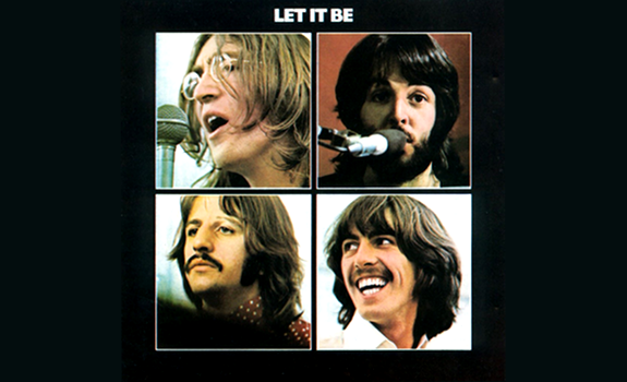 Beatles, Let it Be, album cover