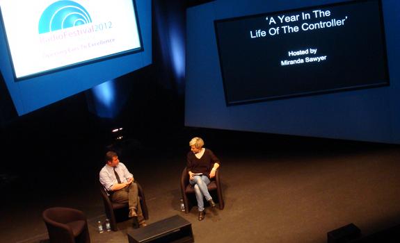 Ben Cooper, Miranda Sawyer, Radio Festival 2012