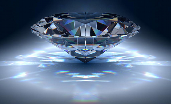 big diamond, shining bright