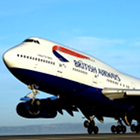British Airways, airplane, take-off
