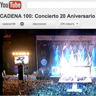 Cadena 100, YouTube channel, 20th Anniversary Concert