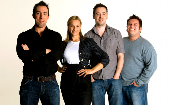 Christian O'Connell's Breakfast Show team, Christian O'Connell, Vicki Butler-Henderson, Brian Murphy, Richie Firth, Absolute Radio
