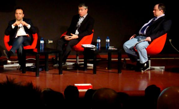 Christian Schalt, Kevin Palmer, Ivars Embrekts, Radiodays Europe 2012