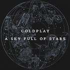 Coldplay, A Sky Full Of Stars, single cover