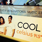 COOLcelsius 91.5°, COOL celsius 91.5 FM, radio billboard