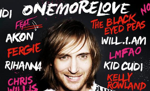 David Guetta, One More Love, album cover