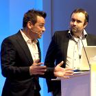 Davy 'Morgan' Serrano, Gaël Sanquer, Radiodays Europe 2013