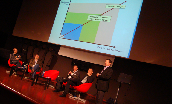 Dennis Christensen, Peter Niegel, Arnaud Annebicque, Warren Kurtzman, Radiodays Europe