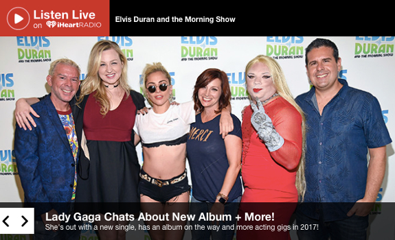 Especially as a news station (or morning show with exclusive interviews or popular bits), you want to publish your content online at the same time it's broadcast on air, thus making sure other media don't run off with your work (image: iHeart Media / Elvis Duran & The Morning Show)