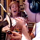 www.radioiloveit.com | Elvis Duran, here with traffic sidekick Valerie Segraves, says he doesn't miss the high-energy afternoon drivetime radio shows on Z100