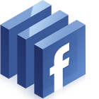 Facebook logo, Facebook icon, Facebook social media icon