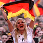 female football supporter, Germany, FIFA World Cup 2014