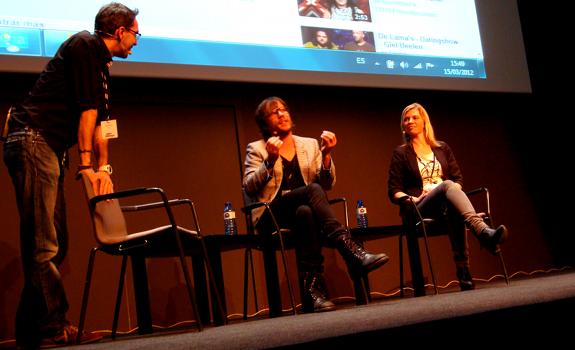 Filippo Solibello, Giel Beelen, Ida Ebbengaard, Radiodays Europe, 2012