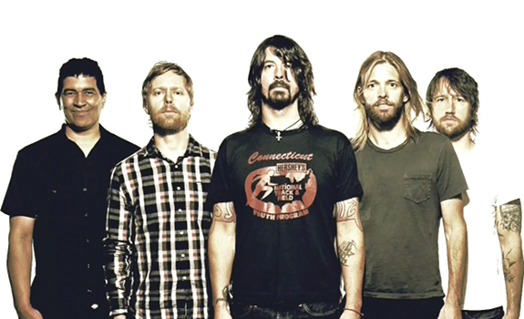 Foo Fighters, rock band