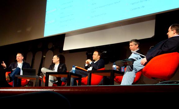 Francis Currie, Hans van Rijn, Christian Schalt, Kevin Palmer, Ivars Embrekts, Radiodays Europe 2012