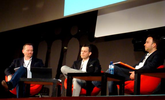 Francis Currie, Hans van Rijn, Christian Schalt, Radiodays Europe 2012