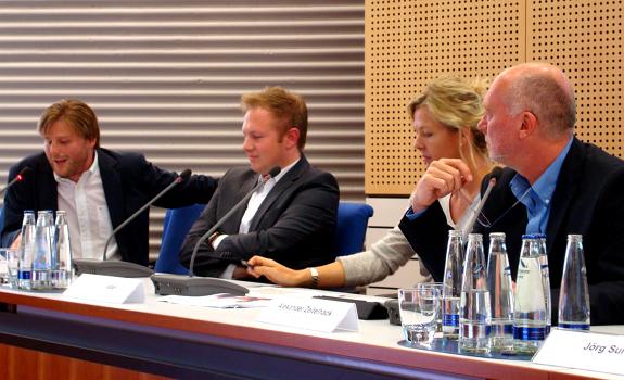 Frank Beyhl, Bernd Rasser, Valerie Weber, Alexander Zeitelhack, BLM Positionierungsstudie 2012, BLM Positioning Study 2012