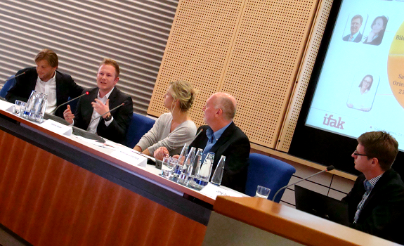 Frank Beyhl, Bernd Rasser, Valerie Weber, Alexander Zeitelhack, Jörg Sunnus, BLM Positionierungsstudie 2012, BLM Positioning Study 2012