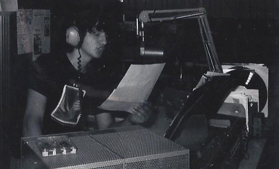 Frank Foti, WELW-AM, radio studio