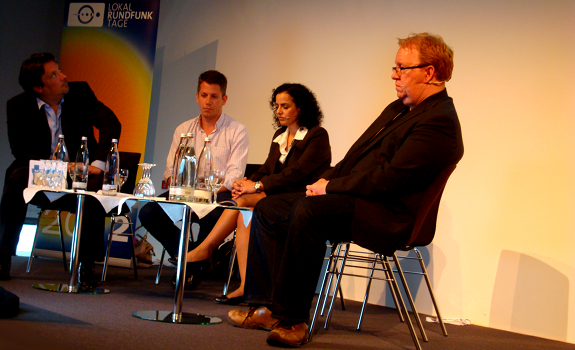 Frank Salzbrenner, Marc Haberland, Yvonne Malak, Nik Goodman, Sacha Gamper, Lokalrundfunktage 2012