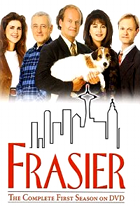 www.radioiloveit.com | Frasier stars Kelsey Grammer as Dr. Frasier Crane, host of a popular radio talk show in Seattle