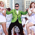 Gangnam Style, Psy, dancers, city