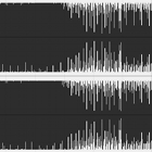 hard limiting, audio processing, sound file, audio waveform