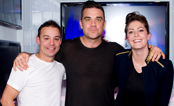 Heart Solent, Heart Breakfast with JK & Lucy, JK & Lucy, Jason King, Jason Griffiths, Robbie Williams, Lucy Horobin