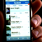 www.radioiloveit.com | The new generation of radio listeners is constantly online and connected to facebook through mobile phone apps, such as this one for Apple's iPhone