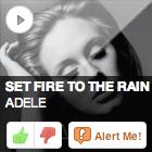 JACK fm 2 Oxfordshire, Listener Driven Radio, interactive radio website, online playlist voting, Adele, Set Fire To The Rain