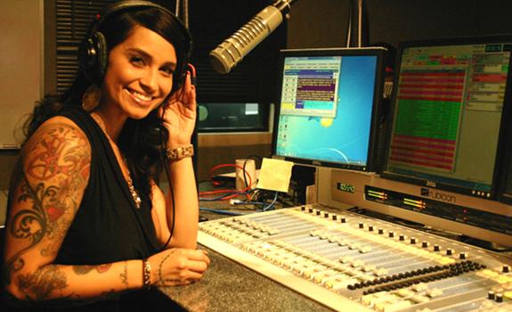 ... radio personality of 101.5 jamz, during her show on the Phoenix radio