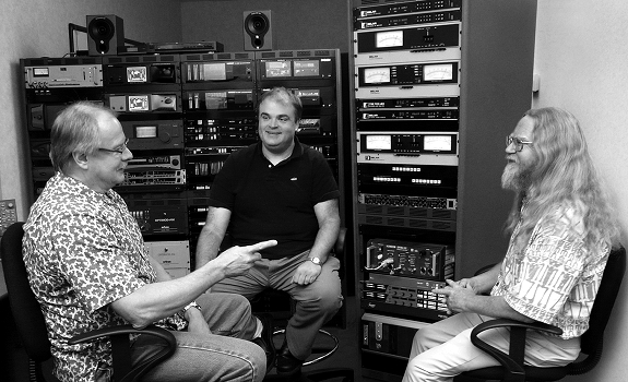 Jeff Keith, Mike Erickson, Steve Dove, sound processing equipment, Wheatstone Audio Processing