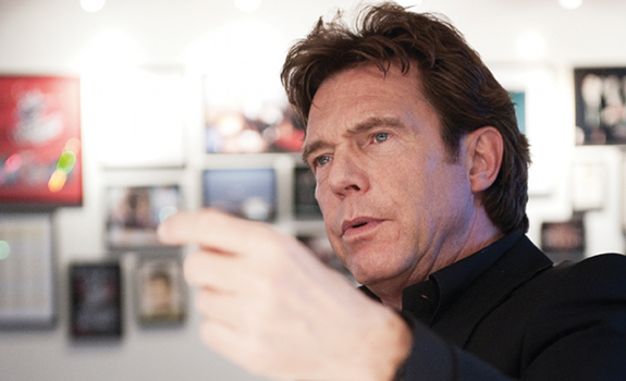 www.radioiloveit.com | Media entrepreneur John de Mol expects interesting opportunities for radio businesses in the digital area, and believes that free to air radio will always attract listeners (photo: Broadcast Magazine / Eelco Hofstra)