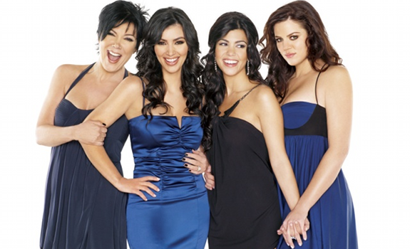 Keeping Up With The Kardashians cast photo, Kris Jenner, Kim Kardashian, Kourtney Kardashian, Khloé Kardashian