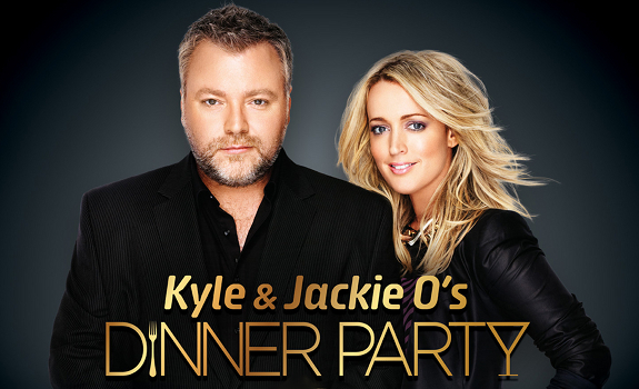 Kyle Sandilands, Jackie O, Jacqueline Henderson, Kyle and Jackie O's Dinner Party
