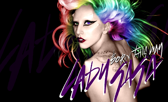 Lady Gaga, Born This Way, album cover