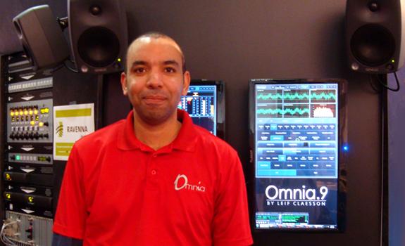 Leif Claesson, Omnia, Omnia.9, Telos Alliance, IBC 2013