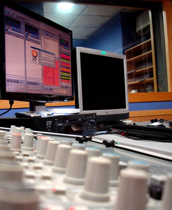 radio broadcast studio, Los 40 Principales, Radio Elche