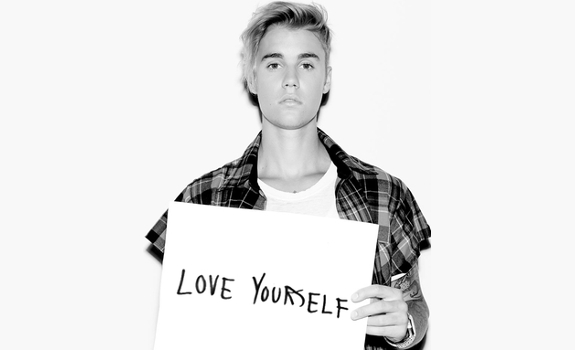 Love Yourself, Justin Bieber, single cover