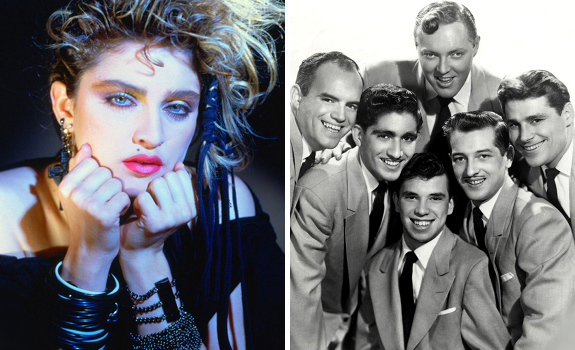 Madonna, Bill Haley & His Comets