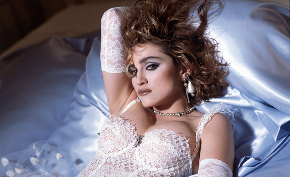 Madonna, Like A Virgin, single cover