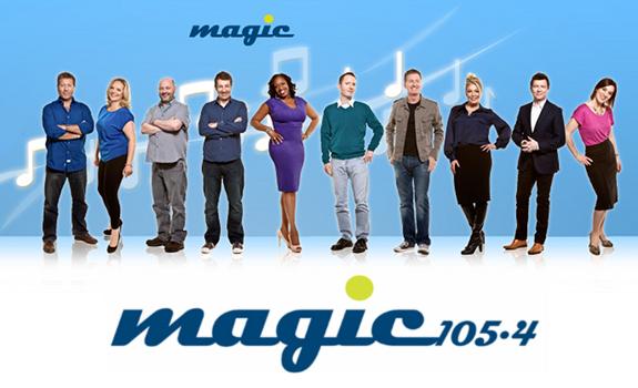 Magic 105.4 logo, Magic 105.4 team